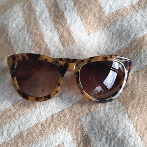 Anthropologie Tortoise Sunglasses